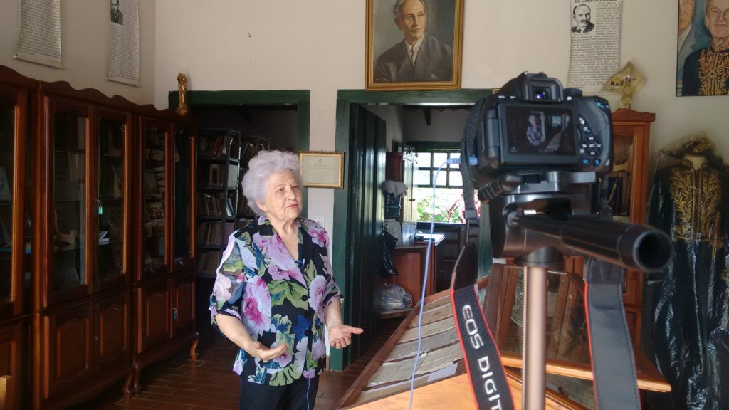 Making off: Entrevista com Dona Maria do Carmo